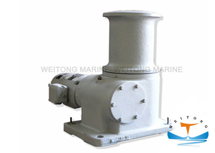 9m / Min Speed Electric Capstan Winch , Capstan Rope Winch 10kn Warping Load